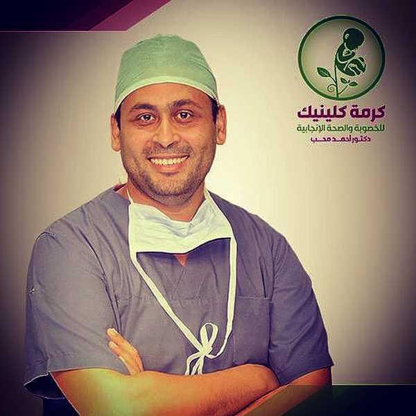 دكتور  أحمد محب  استشاري أمراض النساء والتوليد الجيزة