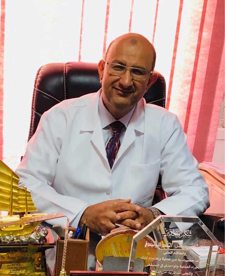 دكتور  احمد الوتيدي  استشاري جراحة القلب والصدر الاسكندرية