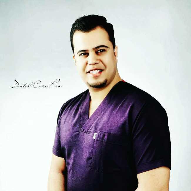 دكتور  احمد مصطفي الشهاوي  أخصائي تجميل الأسنان الجيزة
