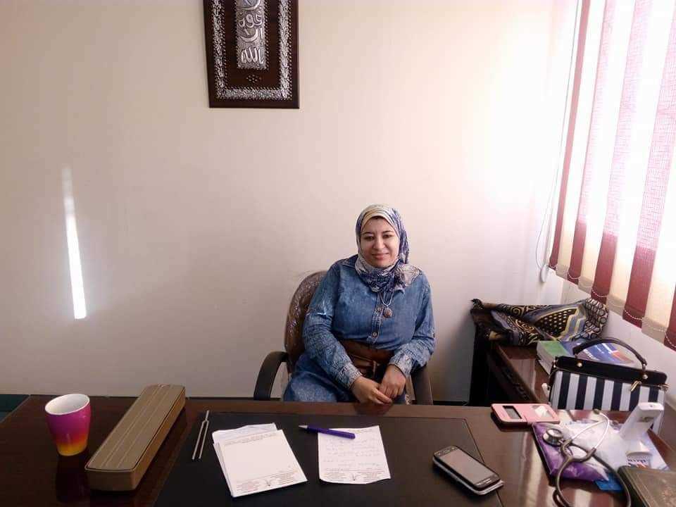 دكتورة  ايمان فكري حسانين  مدرس واستشاري امراض الباطنة والروماتيزم والمناعة الاكلينيكية القاهرة