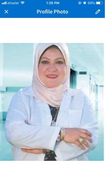 دكتورة  شيرين حنفي محمود  استشارى جراحة الاوعية الدموية و الجراحة  العامة القاهرة