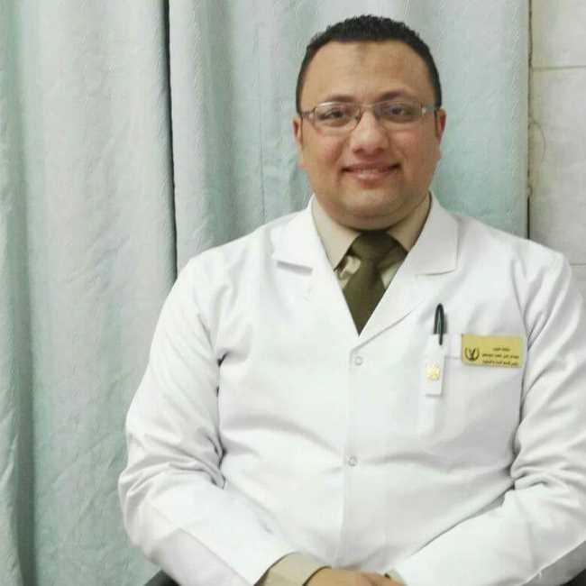 دكتور  عبدالرحمن ابوصغير  رئيس قسم النساء والتوليد بمستشفى الشرطة بأسيوط اسيوط