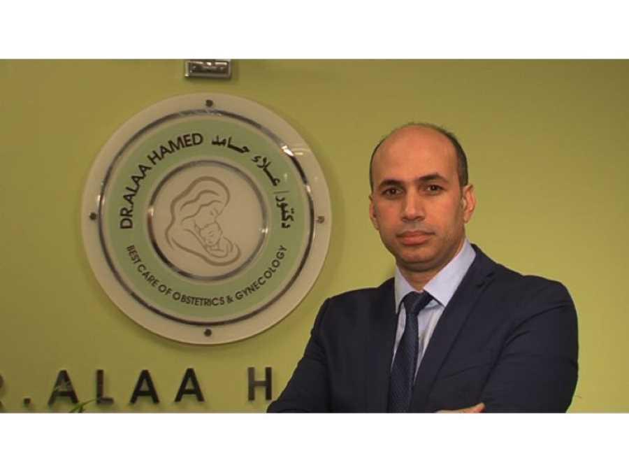 دكتور  علاء حامد  استشارى و مدرس أمراض النساء و التوليد و العقم - جامعة الأزهر . القاهرة