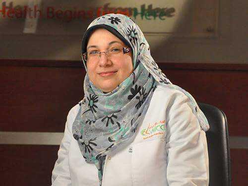 دكتورة  غادة دويدار  استشارى تغذية الاطفال القاهرة