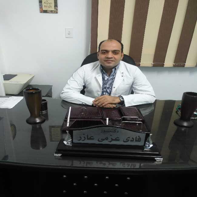 دكتور  فادي عزمي عازر  اخصائي القلب والاوعية الدموية والباطنة- عين شمس القاهرة