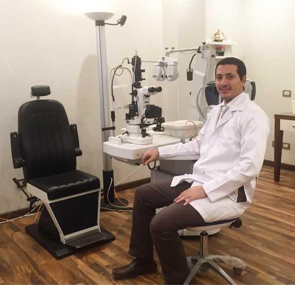 دكتور  محمد نصر الدين  طب وجراحة العيون والفيمتو ليزك , جامعة عين شمس 6 اكتوبر