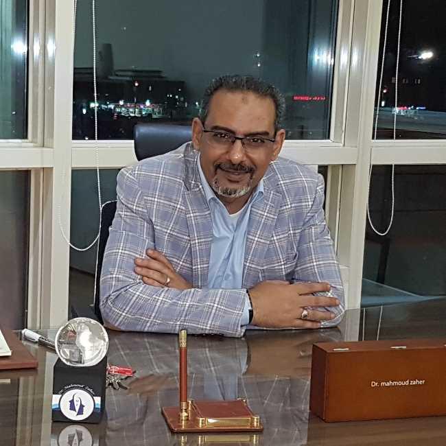 دكتور  محمود زاهر  استشارى جراحة التجميل والليزر القاهرة