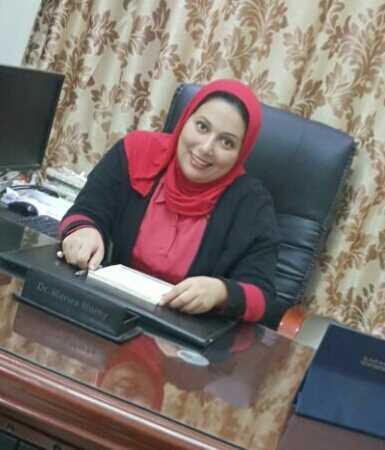 دكتورة  مروه مرسي  اخصائيه الأطفال و حديثي الولادة الجيزة