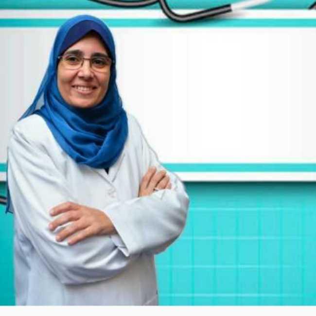 دكتورة  مها صالح  استشاري طب الأطفال وحديثي الولادة القاهرة