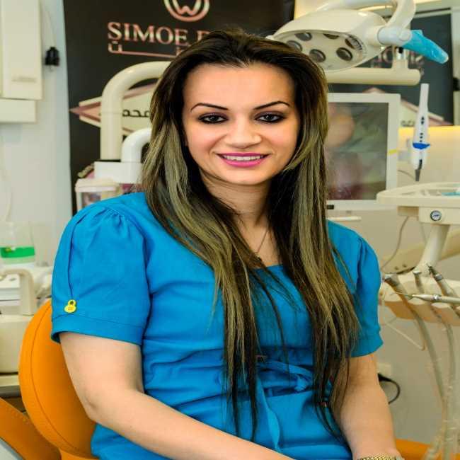 دكتورة  نانسي محمود  اخصائى تجميل الأسنان القاهرة