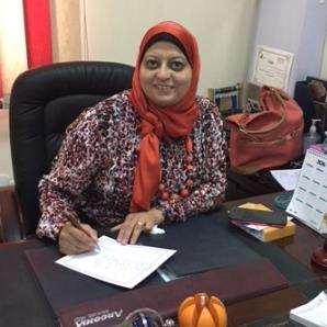 دكتورة  وسام احمد ابراهيم  استشاري و أستاذ الأمراض الباطنة - كلية طب جامعة عين شمس . القاهرة