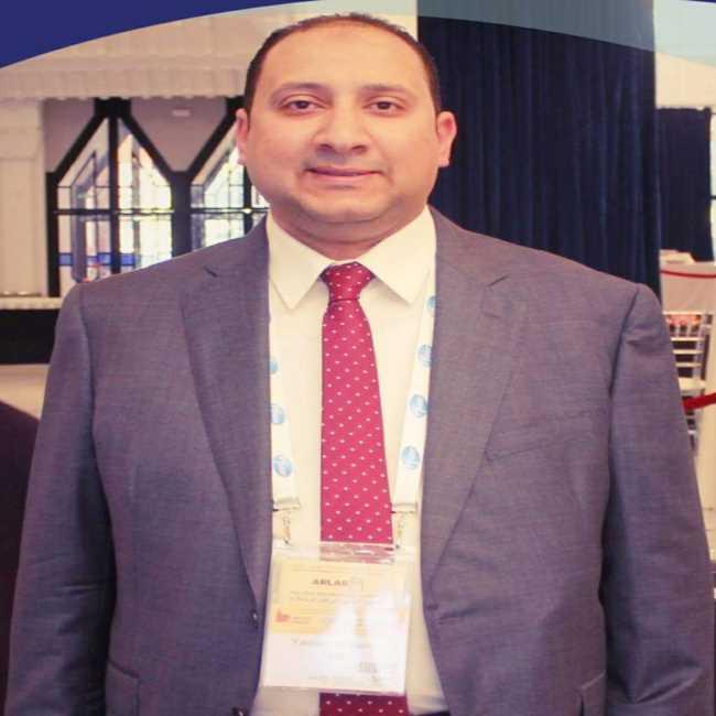 دكتور  ياسر عبد المطلب  مدرس بكلية الطب جامعة الازهر القاهرة